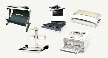 裁断しないスキャン(電子化)をはじめあらゆる紙を電子化する業務用のスキャナー